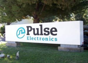 Pulse Electronics Custom Monument Sign
