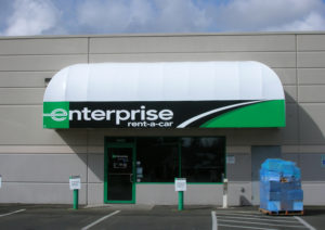Custom Enterprise Canopy Sign Awning sign
