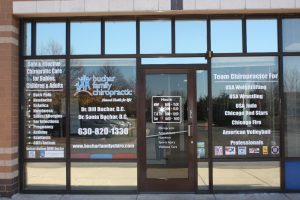 Custom Office Signs Copy of Chiropractic Office Window Decals 300x200