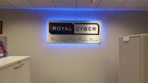 Lighted Signs Royal Cyber Indoor Lobby Sign Backlit 300x169